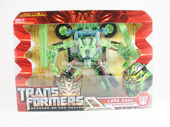 Transformers Long Haul RotF Voyager - caja