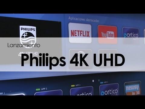 PHILIPS PRESENTA SU NUEVA LÍNEA DE PANTALLAS 4K UHD CONNECTED