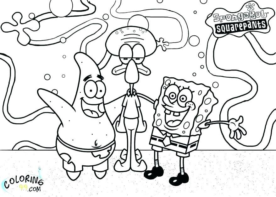 - Sponge Bob Coloring Pages - Coloring Pages 2019