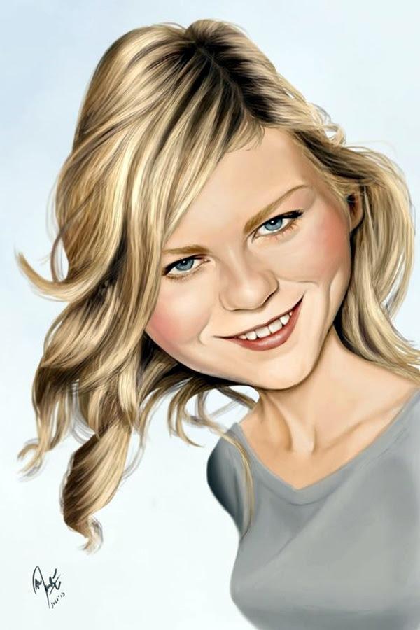 Portrait Caricatures Of Famous Peoples (10)