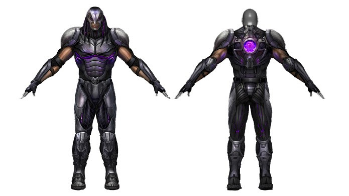 O soldado da Shadaloo inspirado em Alien vs. Predador estava bem avançado, mas não chegou a Street Fighter 5 (Foto: Divulgação/Capcom)