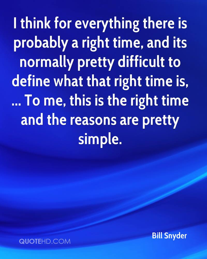 Bill Snyder Quotes Quotehd