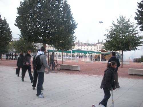 People in Bellecour