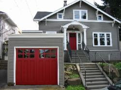 Hand-made custom Seattle Garage Door and REAL Carriage House ...