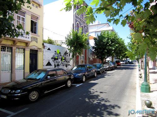 Arte Urbana by Samina - Caras a preto e branco na Figueira da Foz Portugal - Rua das árvores (1) [en] Urban art by Samina - Faces in Black and White in Figueira da Foz, Portugal