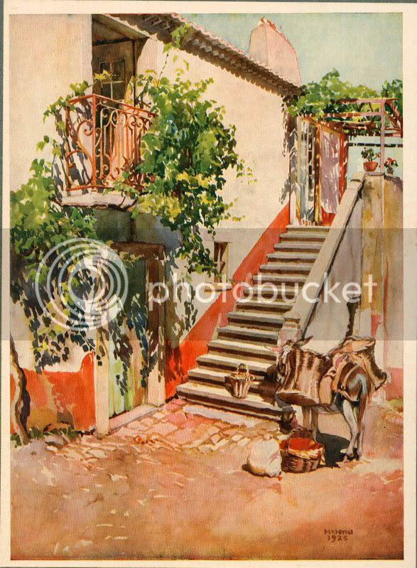 Casa Saloia em Colares-Helena Roque Gameiro 1927