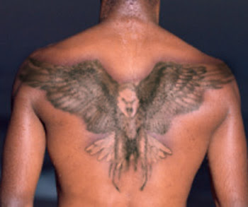 Mind Blowing Back Body Eagle Tattoo