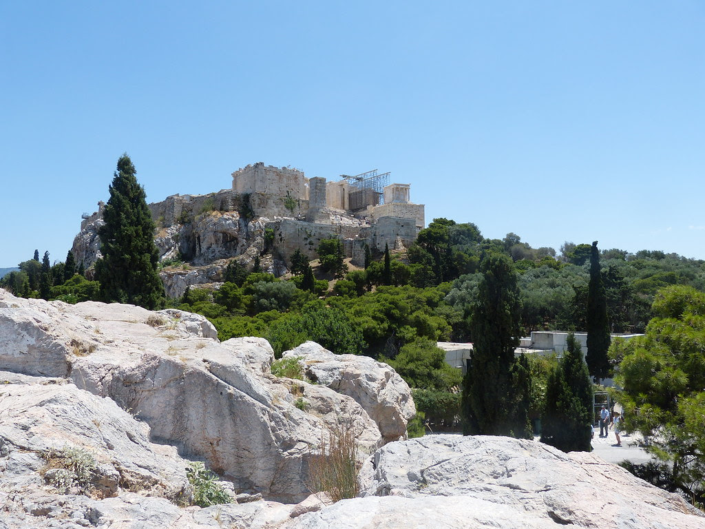View from Filopappos Hill, Athens