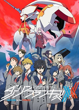 Darling in the FranXX [24/24] [HD] [Sub Español] [MEGA]