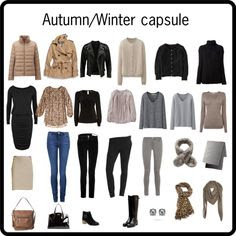 """Autumn/Winter capsule"" by lillyicity on Polyvore"