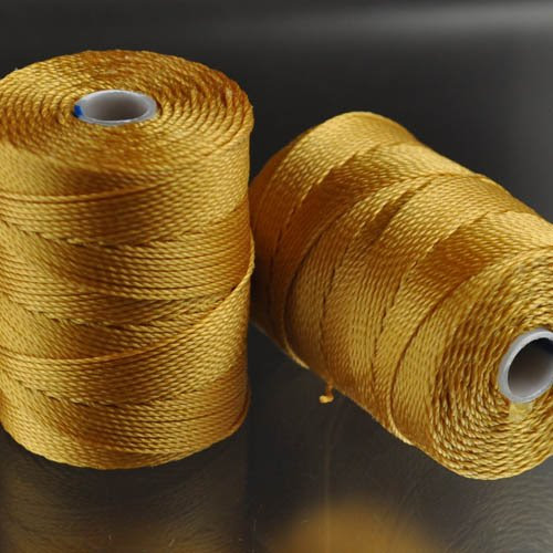 s25047 Thread -  C-Lon Bead Cord - Marigold (Spool)