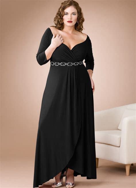 Plus Size Gothic Black Wedding Dress   Styles of Wedding