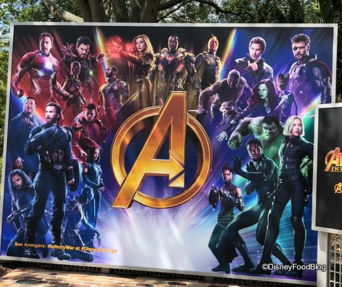 Avengers Photo Op