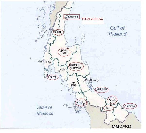 Wilayah Nagara Kedah sebelum serangan Musuh Bisik tahun 1821.