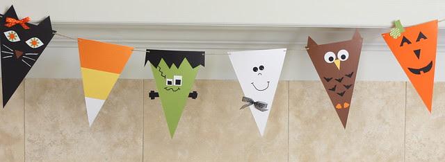 Paper Halloween Banner