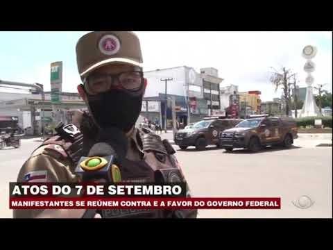 VEJA COMO FOI O 7 DE SETEMBRO EM FEIRA DE SANTANA