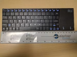 Rii K12BT Ultra Slim keyboard