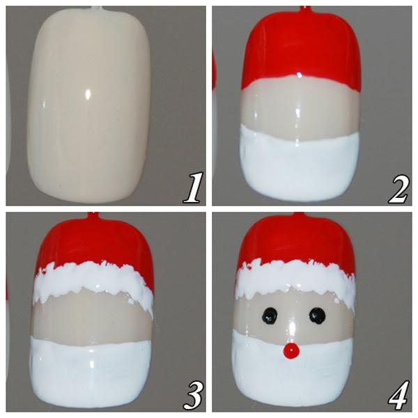478905 Unhas decoradas para o natal passo a passo1 Unhas decoradas para o Natal, passo a passo