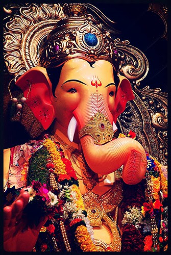 Happy Ganesh Chaturthi .. Lalbagh Chya Raja Jai Ho. by firoze shakir photographerno1