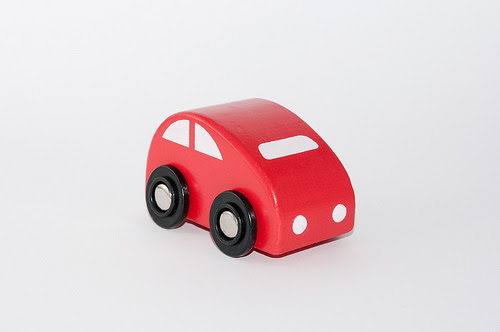 style of various cars »Red Toy Car