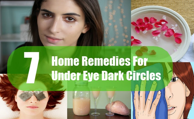 7 Best Home Remedies For Under Eye Dark Circles | Search ...