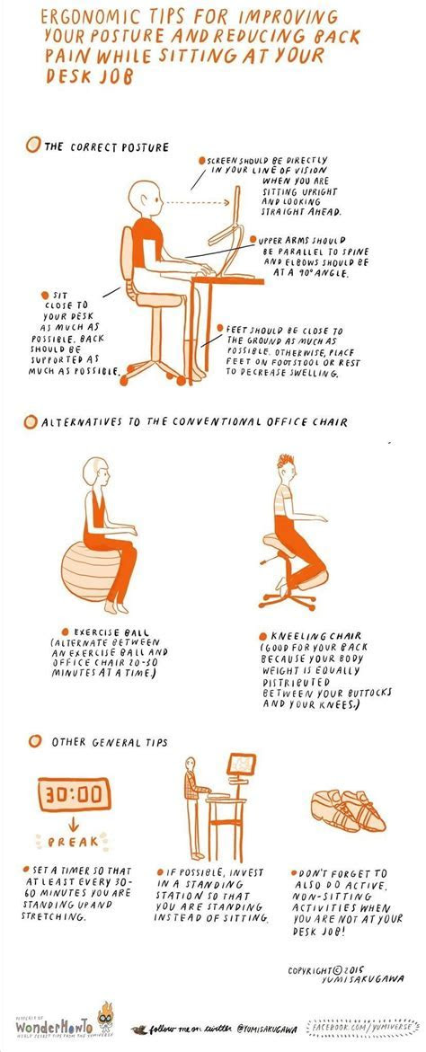 How To: Ergonomic Tips for Improving Posture & Reducing