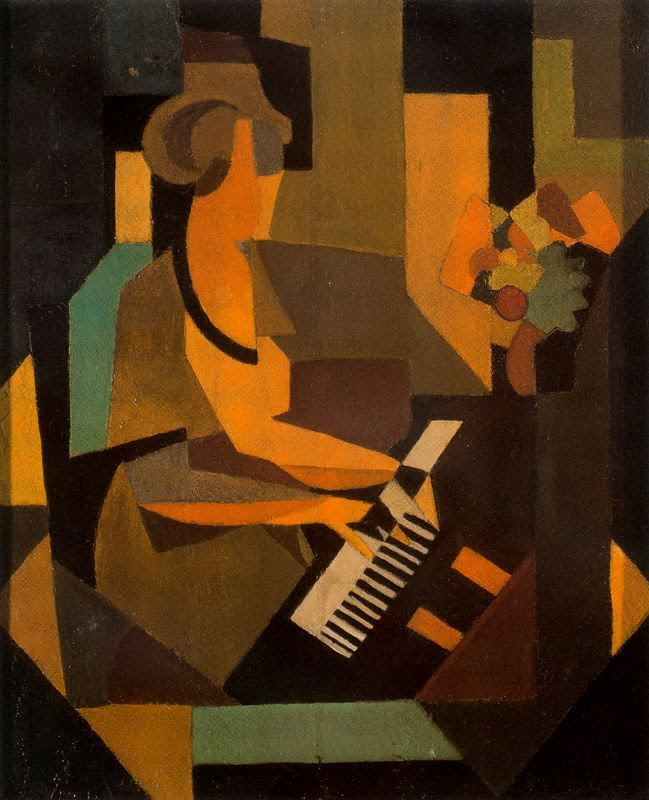 Georgette at the Piano, 1923Rene Magritte