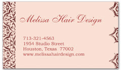 BCS-1038 - salon business card