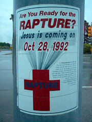 Are you ready for the Rapture? Jesus is coming...