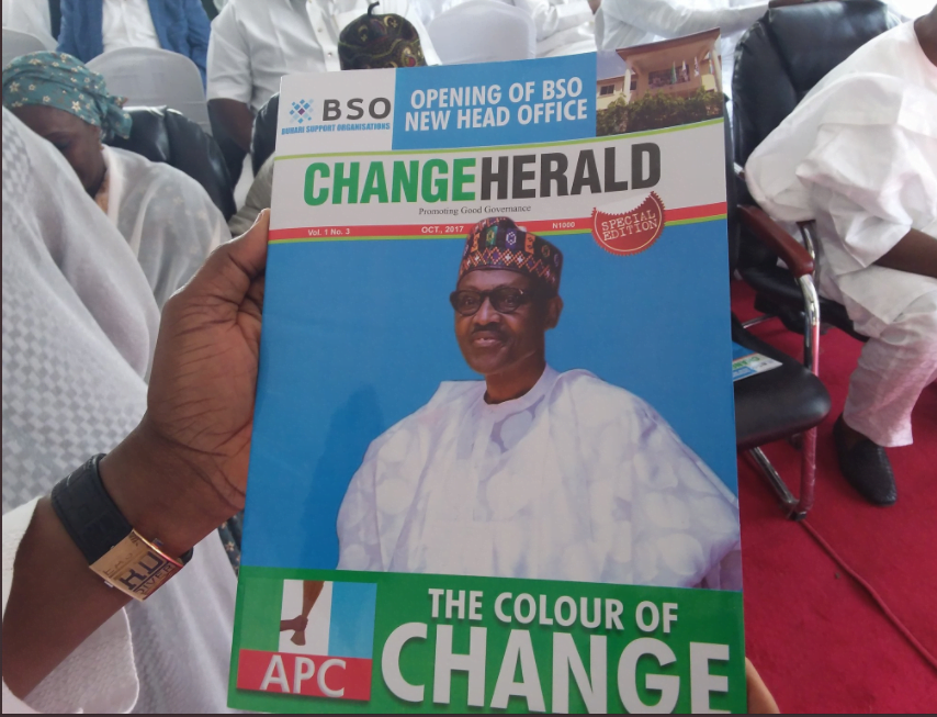 2019: Buhari group opens new head office ahead of President's declaration for re-election [PHOTOS]