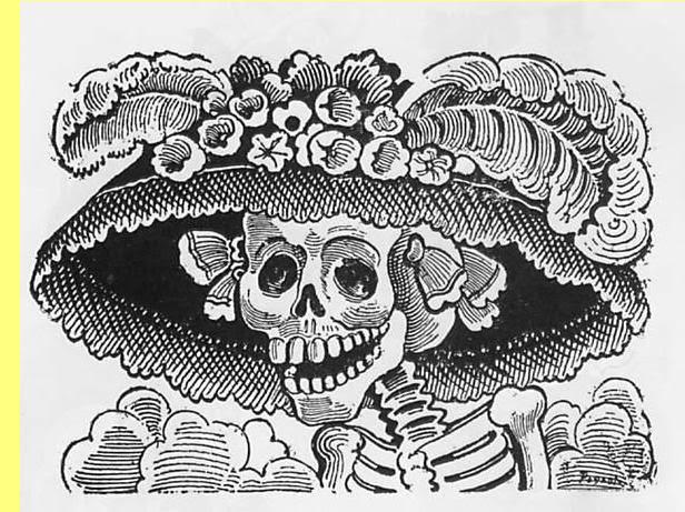 'Catrina', de José Guadalupe Posada