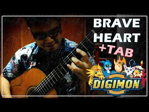 Digimon - Brave Heart - Guitar Tab