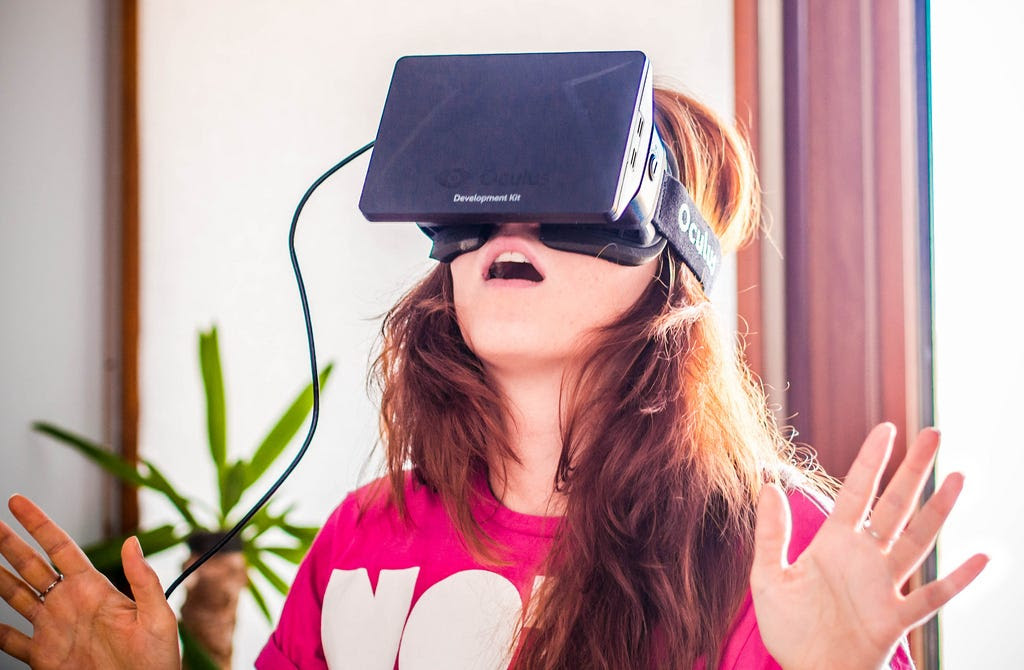 Researchers are using virtual reality to help people get over phobias and PTSD.