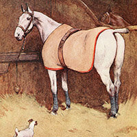 Cecil Aldin, White-ear and Peter