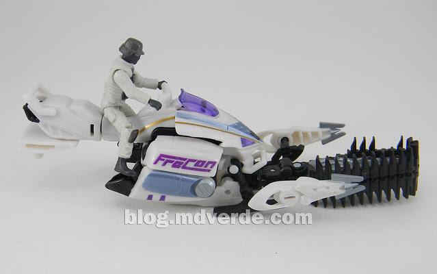 Transformers Icepick DotM Human Alliance - modo arma MechTech