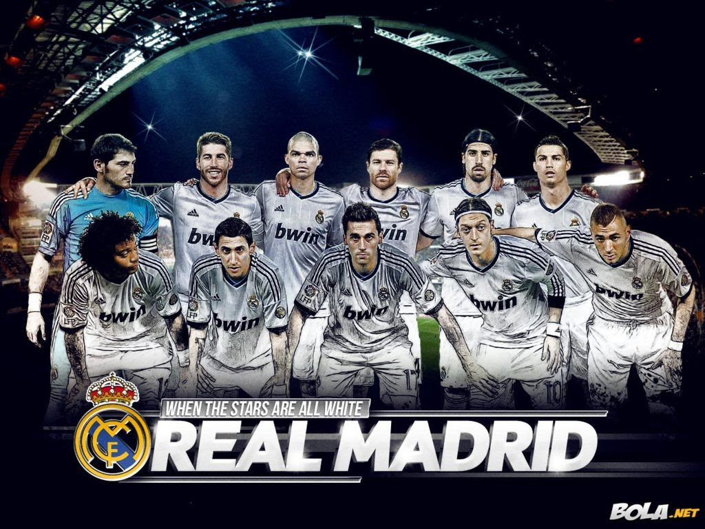 Real Madrid Team Wallpaper Wallpapers Nature