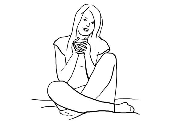 Позирование: позы для женского портрета 2-5