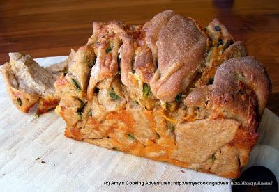 Jalapeno and Cheese Pull Apart Bread