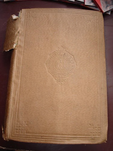 Cover of an old book