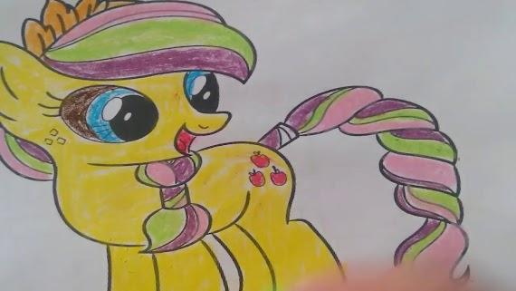 Pinkie Pie Boyama