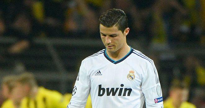 Cristiano Ronaldo: Madrid talisman a doubt for Dortmund game