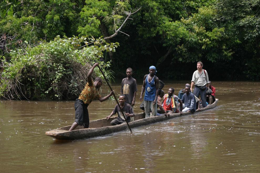 Конго - річка в Центральній Африці
