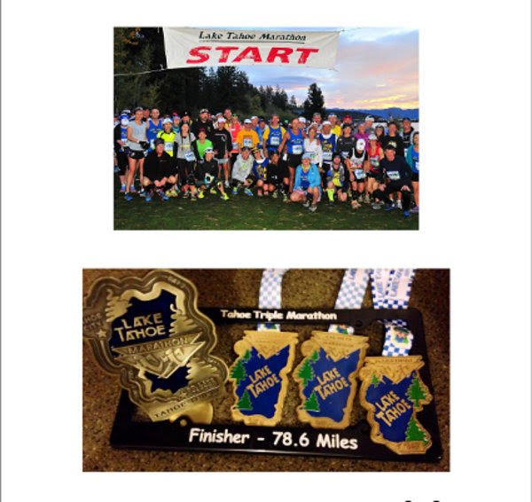 tahoe race report finisher