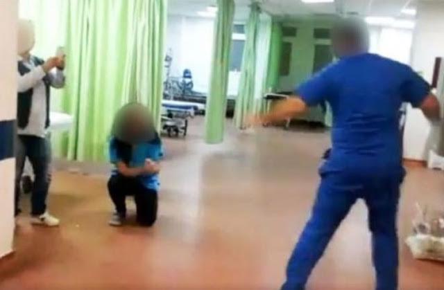 Λέσβος: Αυτό είναι το ζεϊμπέκικο στο νοσοκομείο που προκαλεί αντιδράσεις – Οι επίμαχες εικόνες
