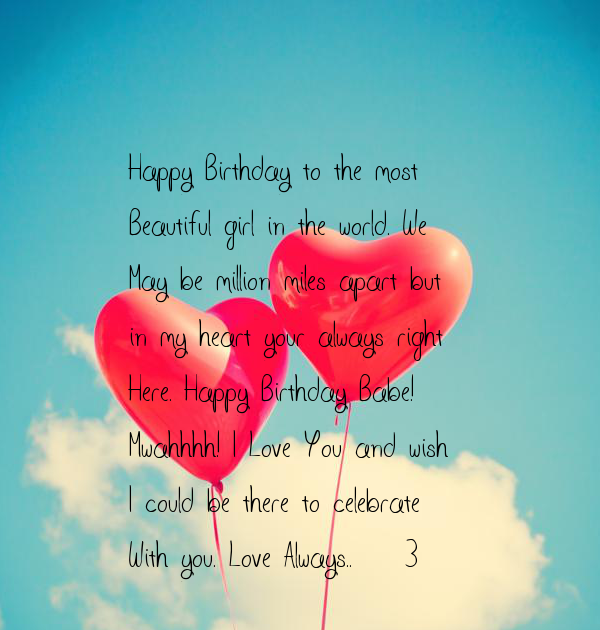Happy Birthday To The Beautiful Lady