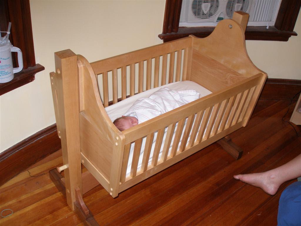 Baby Cradle by Mark Hodgson