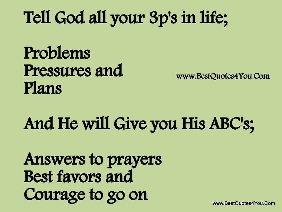 Quotes About God And Problems 120 Quotes