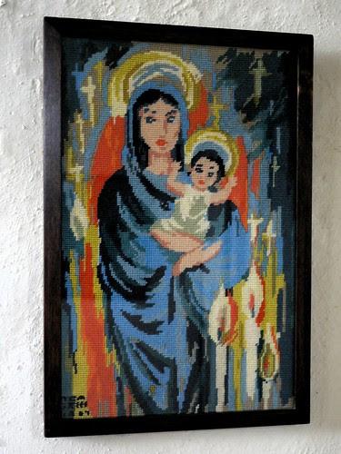 Cross-stitch Nativity