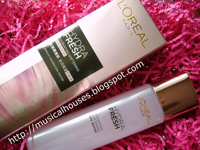 Loreal HydraFresh Hydrating Softening Spa Water