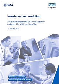 GP contract reform | NHS Long Term Plan